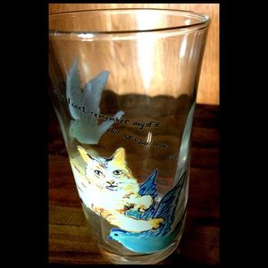 Rebekah Maysles for Anthropologie Epic Cat Glass
